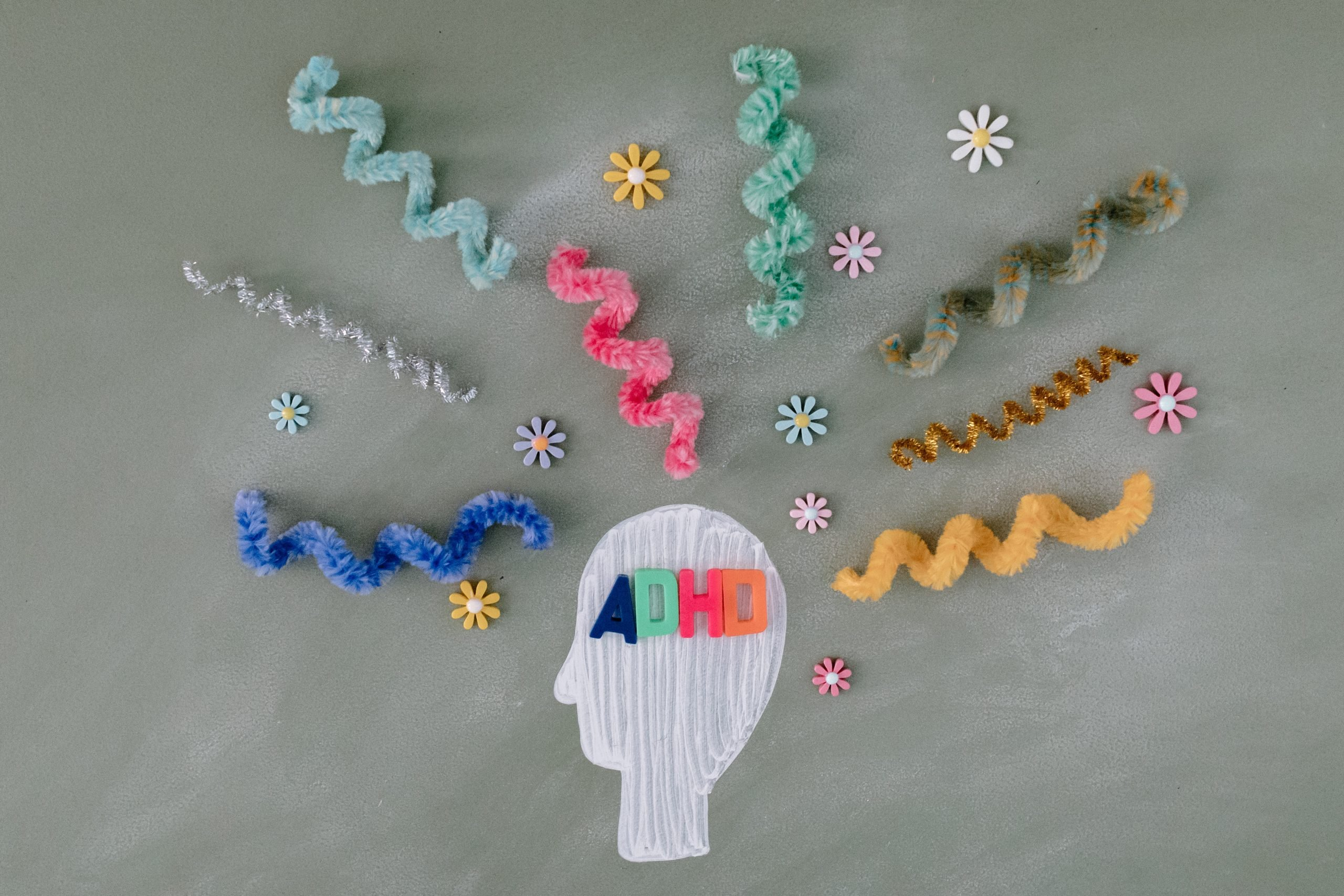 A craft illustration for adhd mind.