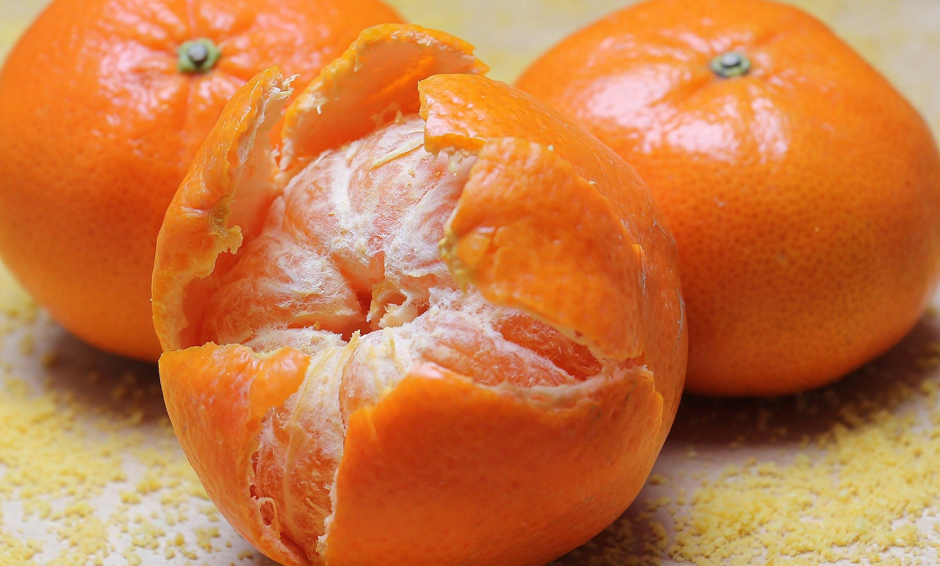 Tangerines for vitamin c as adhd supplement.