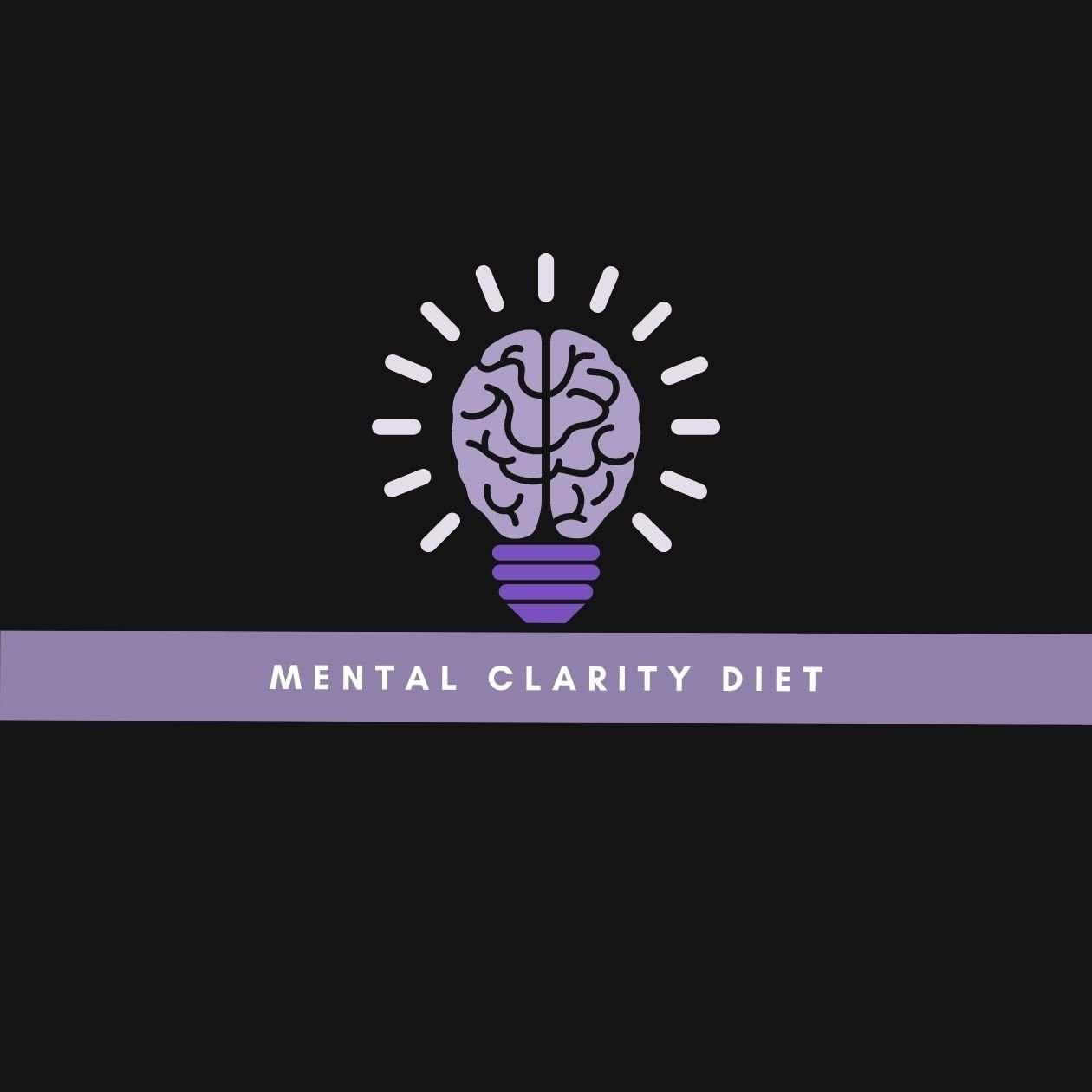 Mental clarity diet: an illustration