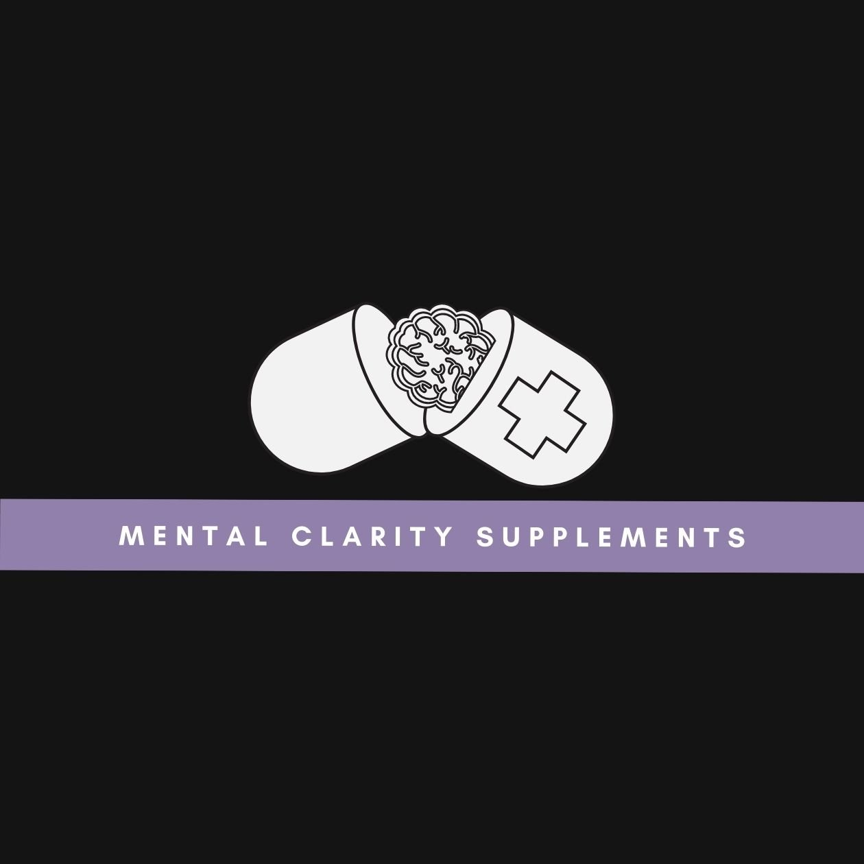 Mental clarity supplements: an illustration