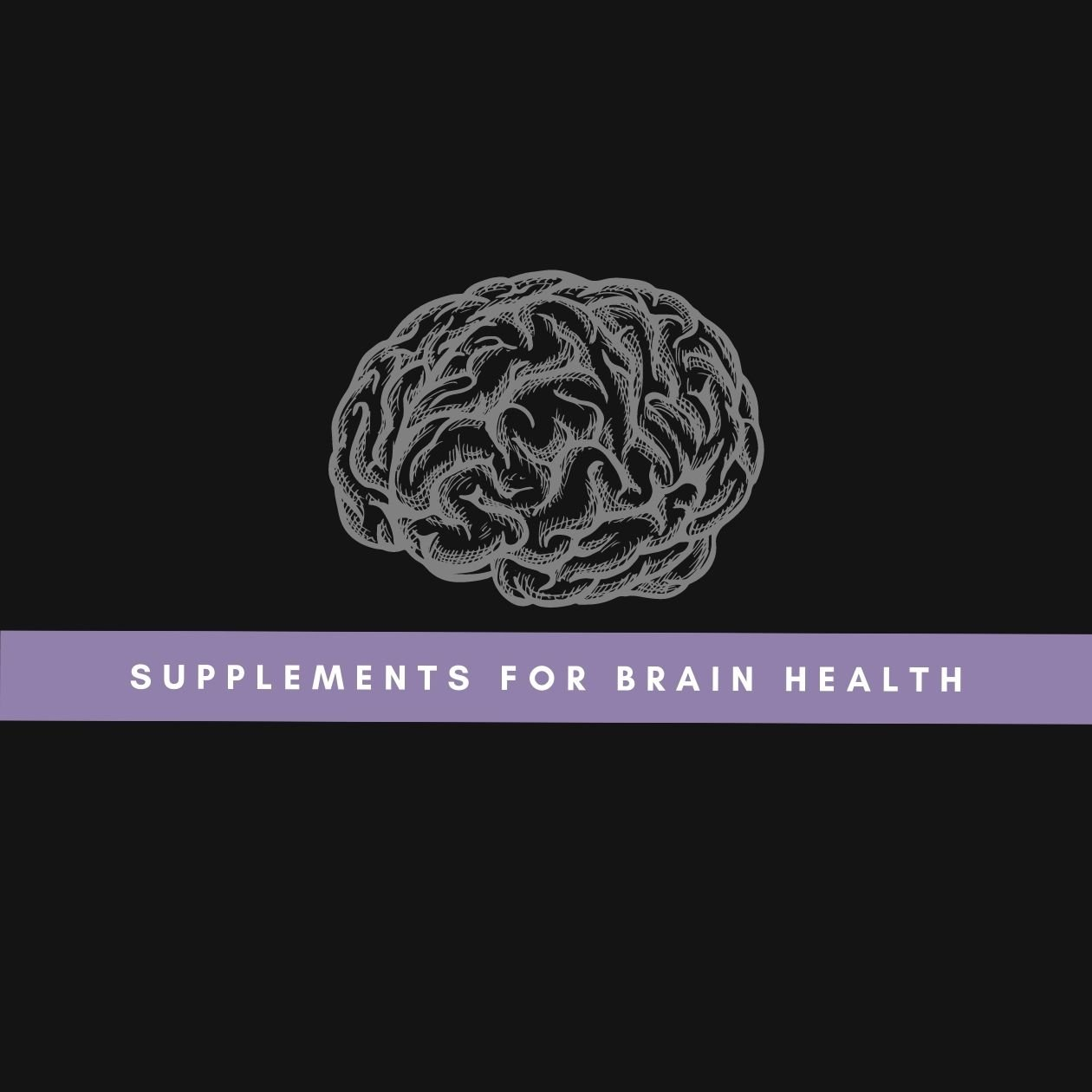 Supplements for brain health: an illustration