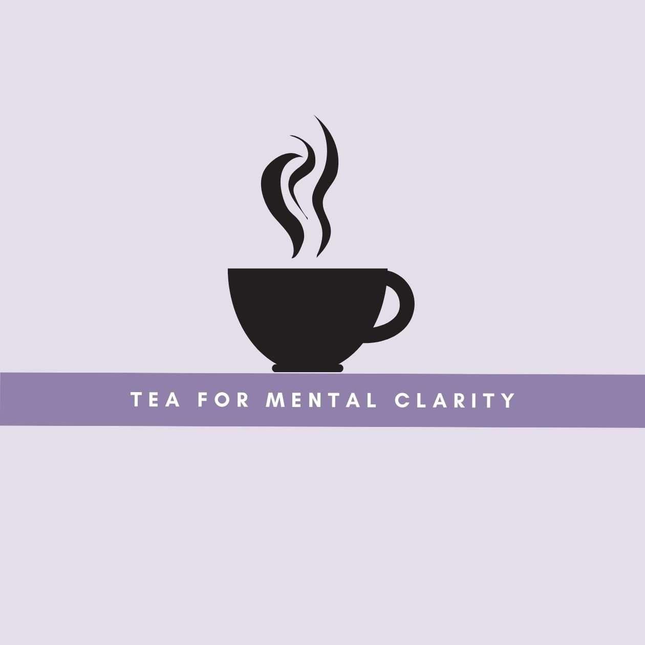 Tea for mental clarity: an illustration