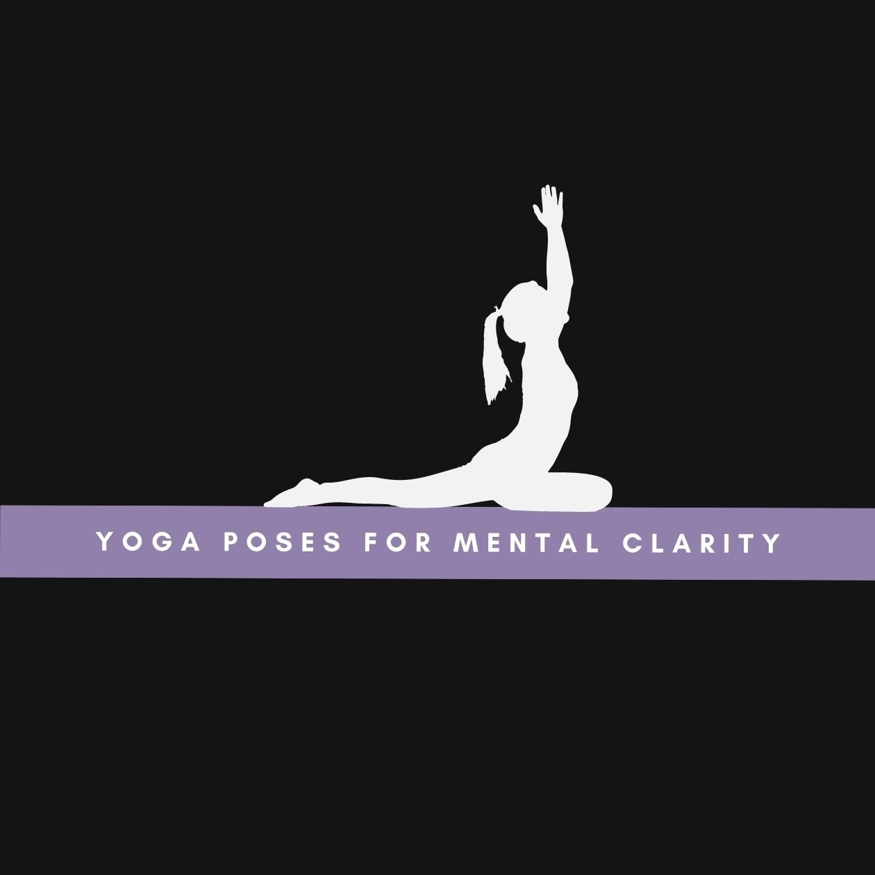 Yoga poses for mental clarity: an illustration